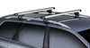 Dachträger Thule mit SlideBar VOLKSWAGEN Caddy Maxi Life 5-T MPV Dachreling 08-15