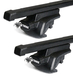 Dachträger Thule mit SquareBar VOLKSWAGEN Touareg 5-T SUV Dachreling 05-09