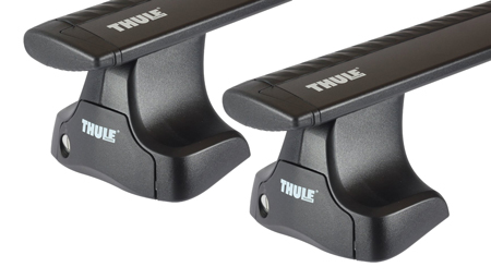 Dachträger Thule mit WingBar Black AUDI A3 5-T Hatchback Normales Dach 99-03