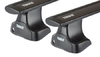 Dachträger Thule mit WingBar Black VOLKSWAGEN Lupo 3-T Hatchback Normales Dach 97-05