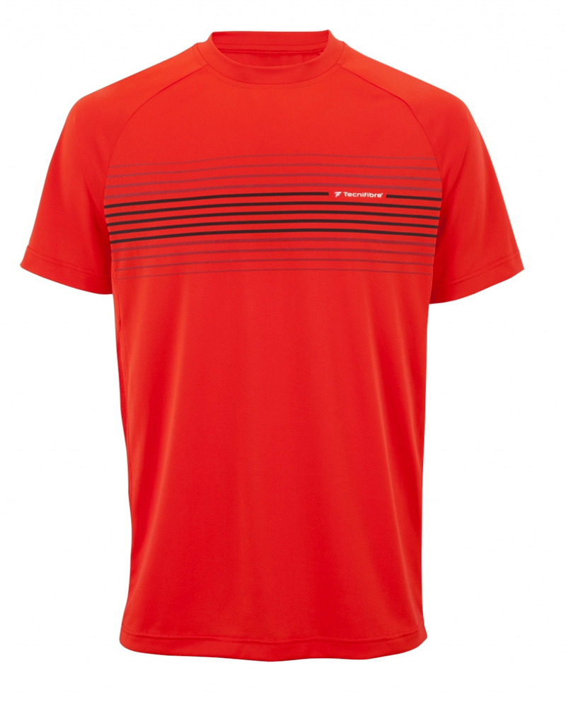 Herren Funktions T-Shirt Tecnifibre F2 Airmesh Fire