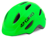Kinder Helm GIRO Scamp green-lime lines